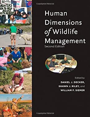 Human Dimensions of Wildlife Management 9781421406541