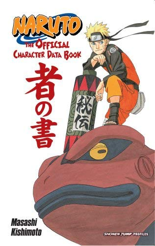Naruto: The Official Character Data Book 9781421541259