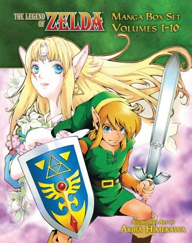The Legend of Zelda Box Set 9781421542423