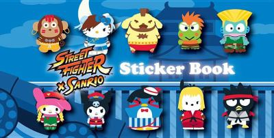 Street Fighter X Sanrio Sticker Book 9781421553689