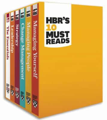 HBR's 10 Must Reads 9781422184059