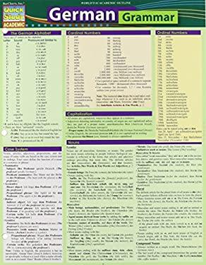 German Grammar (Quick Study Academic)