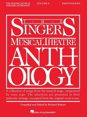 Singer's Musical Theatre Anthology: Baritone/Base Volume 4