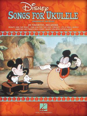 Disney Songs for Ukulele 9781423495604