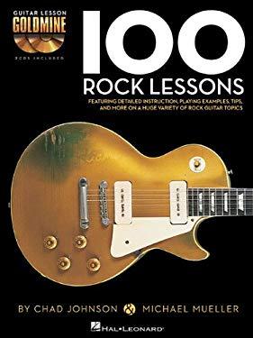 100 Rock Lessons - Guitar Lesson Goldmine Series (Book/CD)