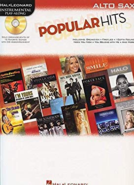 Popular Hits: Instrumental Play-Along for Alto Sax 9781423499985