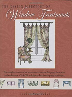 The Design Directory of Window Treatments [With CDROM] 9781423602163