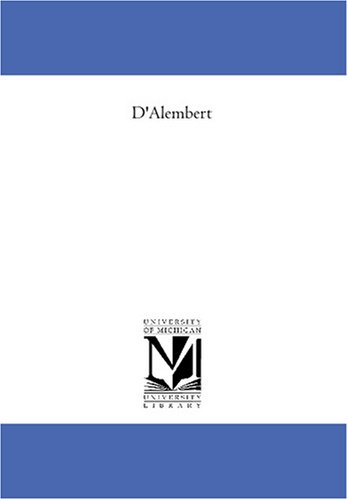 D'Alembert (French Edition) 9781425579333