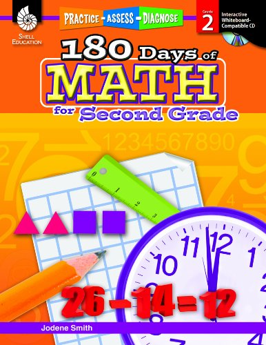 180 Days of Math for Second Grade [With CDROM]