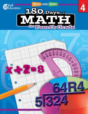 180 Days of Math for Fourth Grade [With CDROM]