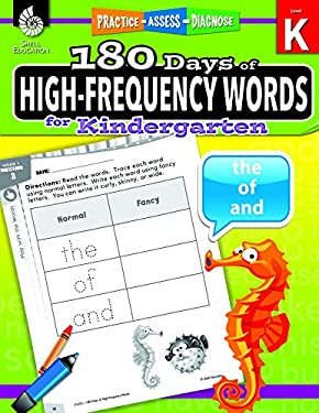 180 Days of High-Frequency Words for Kindergarten (180 Days of Practice)