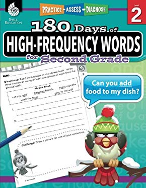 180 Days of High-Frequency Words for Second Grade (180 Days of Practice)