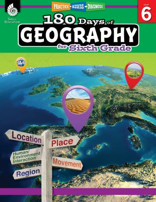 180 Days of Geography for Sixth Grade (180 Days of Practice)