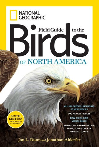 National Geographic Field Guide to the Birds of North America 9781426208287