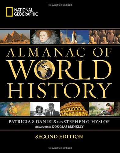 National Geographic Almanac of World History 9781426208904