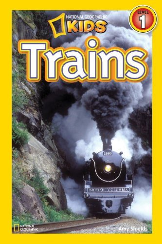 National Geographic Kids: Trains 9781426307775