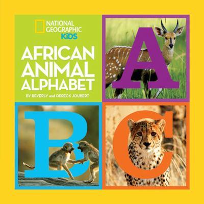African Animal Alphabet 9781426307829