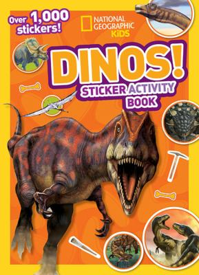 National Geographic Kids Dinos Sticker Activity Book: Over