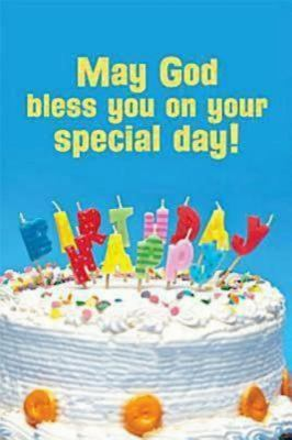 Happy Birthday Postcard (Child Cake), Package of 25 9781426735905