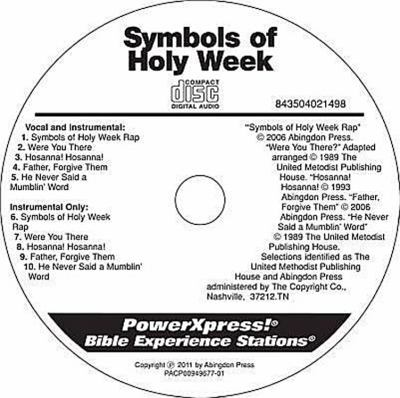 Powerxpress Symbols of Holy Week Music CD 9781426739767