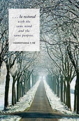 Winter Path Scripture Bulletin 9781426746314