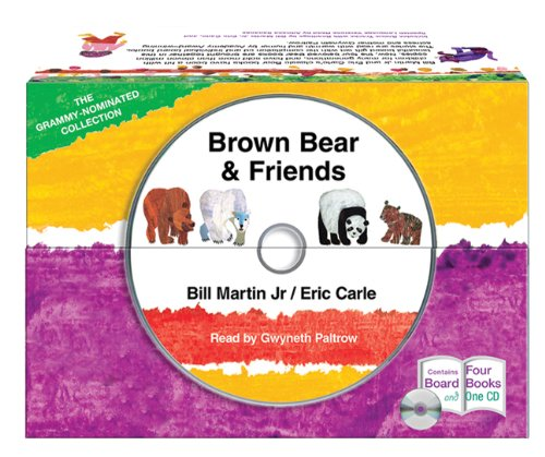 Brown Bear & Friends [With CD (Audio)] 9781427214485