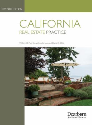 California Real Estate Practice 9781427792167