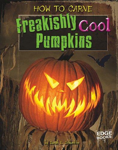How to Carve Freakishly Cool Pumpkins 9781429654203