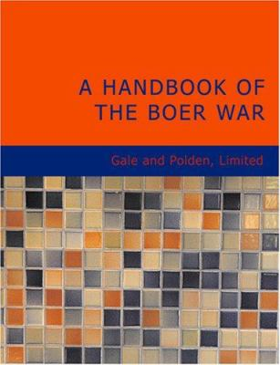 A Handbook of the Boer War 9781426499852