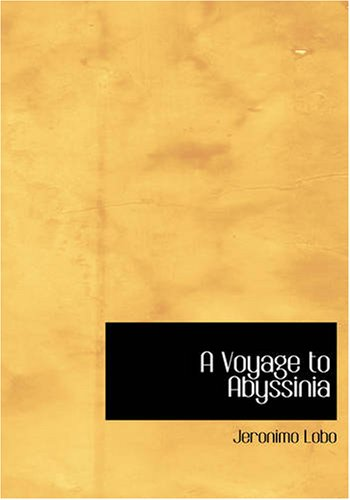 A Voyage to Abyssinia 9781426401565