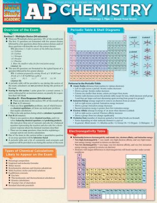 AP Chemistry 9781423214915