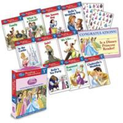 Reading Adventures Disney Princess Level 1 Boxed Set 9781423169819
