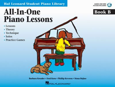 All-In-One Piano Lessons, Book B [With CD (Audio)] 9781423470984