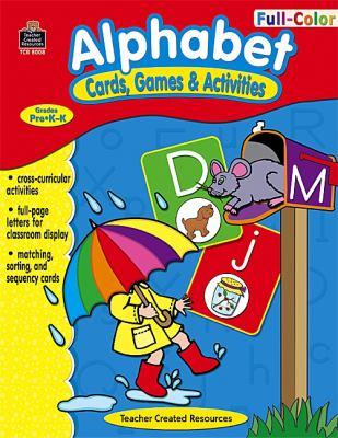 Alphabet: Cards, Games & Activities 9781420680089