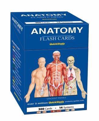 Anatomy Flash Cards 9781423204237