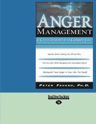Anger Management: 6 Critical Steps to a Calmer Life (Easyread Large Edition) 9781427093943