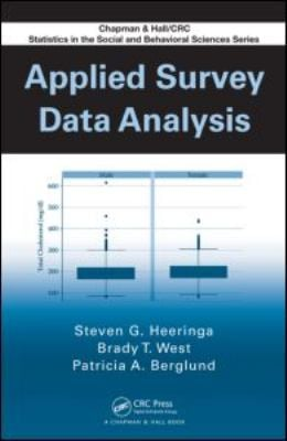 Applied Survey Data Analysis 9781420080667