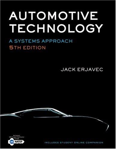 Automotive Technology: A Systems Approach 9781428311497