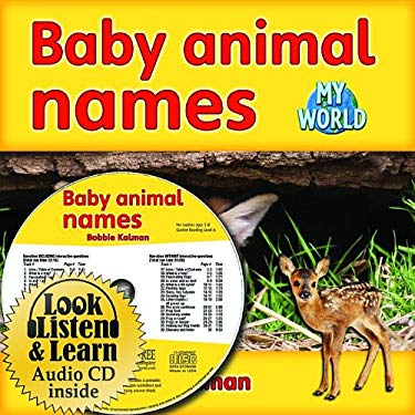 Baby Animal Names [With Paperback Book] 9781427110084