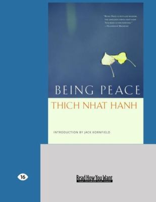 Being Peace (Easyread Large Edition)