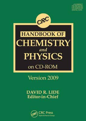 CRC Handbook of Chemistry and Physics CD-ROM Version 2009 9781420089097