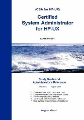 Certified System Administrator for HP-UX 9781424322824