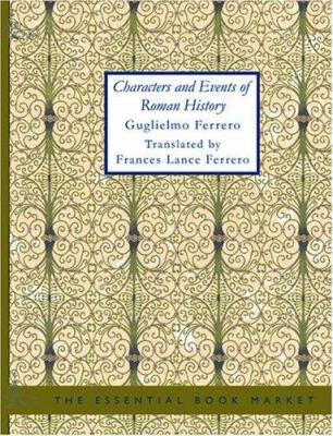 Characters and Events of Roman History 9781426487590