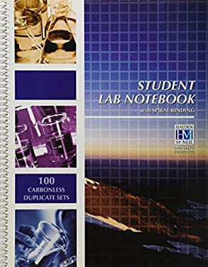 Student Lab Notebook: 100 Carbonless Duplicate Sets
