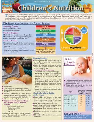 Children's Nutrition 9781423218395