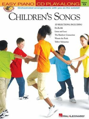 Children's Songs [With CD] 9781423401360