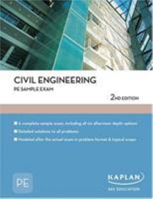 Civil Engineering: PE Sample Exam 9781427761422