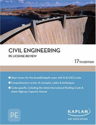 Civil Engineering PE License Review 9781427761392