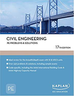 Civil Engineering PE Problems & Solutions 9781427761408