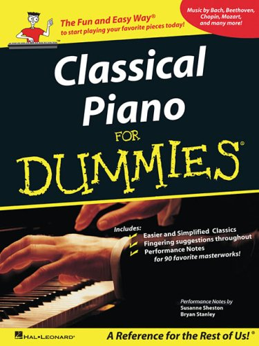 Classical Piano Music for Dummies 9781423428589